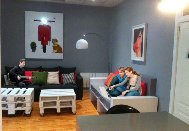 Alquiler por habitaciones en Madrid - Alonso Martínez Rooms 1