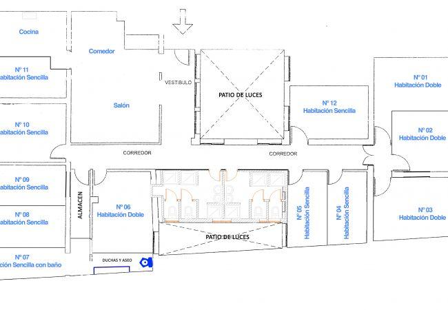 Alquiler por habitaciones en Madrid - Alonso Martínez Rooms 2