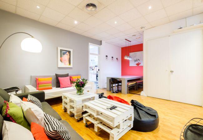 Alquiler por habitaciones en Madrid - 1MB Estudiomad 06.1