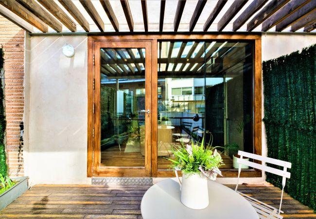 Apartamento en Madrid - Triplex con piscina