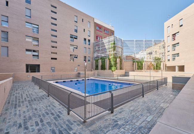 Apartamento en Madrid - Apartamento tranquilo con terraza en Matadero